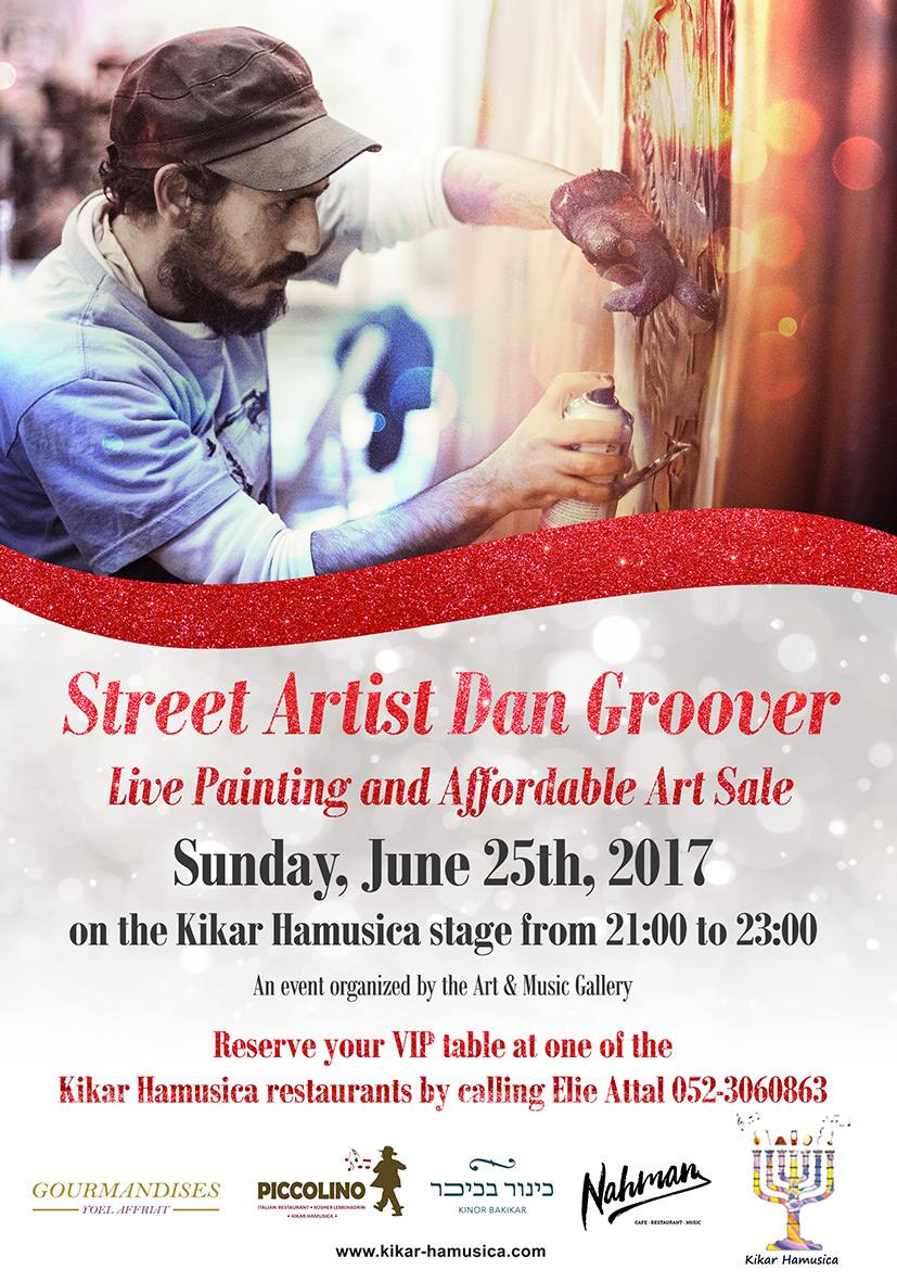 Live Painting Dan groover
