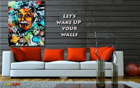Pop Art Einstein @ Dan Groover