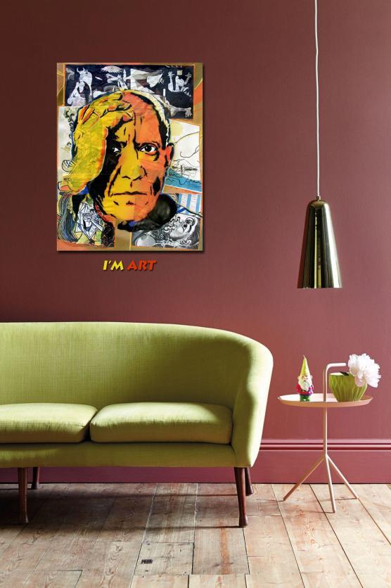 Pop Art Picasso © Dan groover