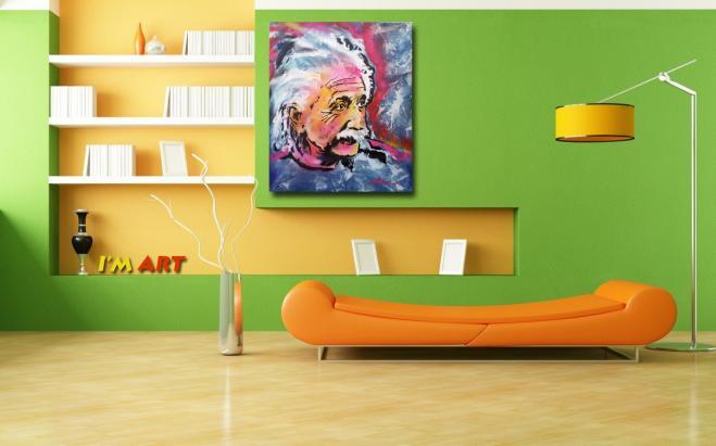 Einstein Psychedelic © Dan groover
