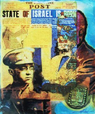 Jabotinsky & Herzl © Dan Groover - דן גרובר
