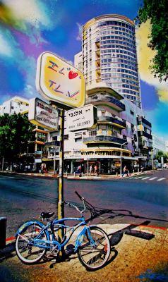 I Love Tel Aviv © Dan Groover - דן גרובר