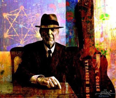 Leonard Cohen © Dan Groover - דן גרובר