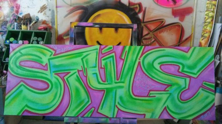 Old School Style Graffiti © Dan Groover - דן גרובר