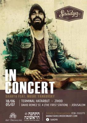 Summer Jerusalem 2017, concert saadya