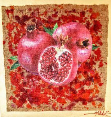 Pomegranates © Dan Groover - דן גרובר