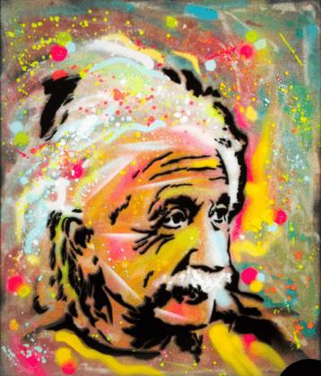 Pop Einstein  © Dan Groover - דן גרובר