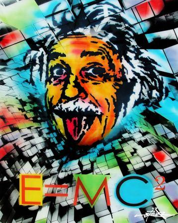 Einstein - E=MC2 © Dan Groover - דן גרובר