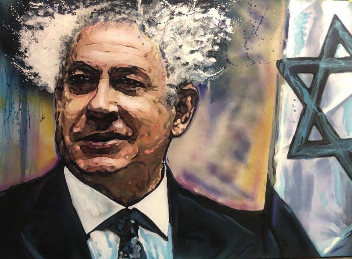 BiBi Ben , Painting by Dan Groover