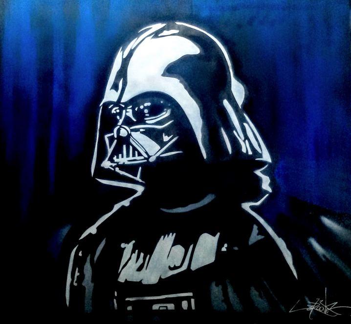 Dark Vador, Painting by Dan Groover - דן גרובר