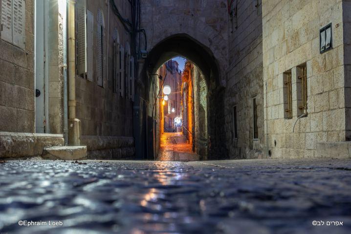 Vieille ville de Jerusalem © Ephraim Loeb
