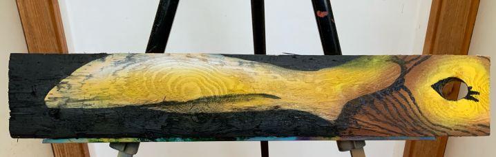 Flood 4, Painting by Sasha