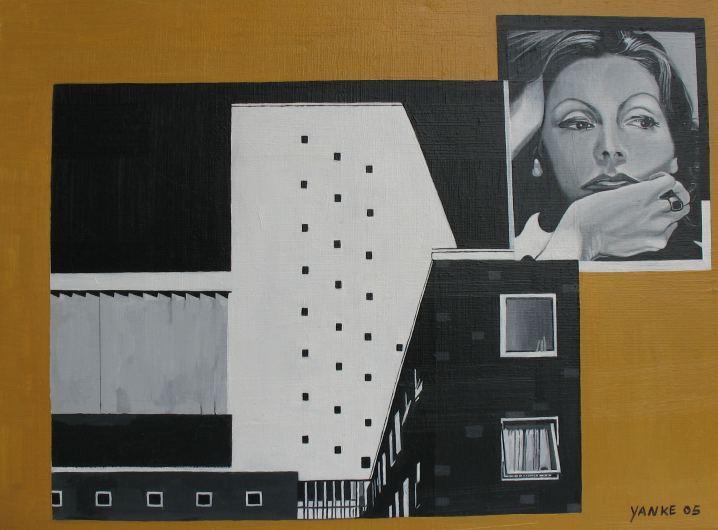 Pensamiento, Peinture by Heike Zaun-Goshen
