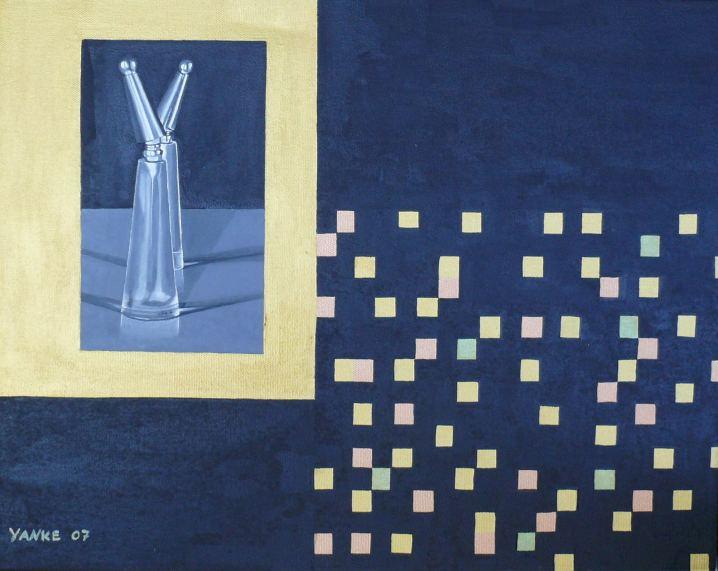 Scent, Painting by Heike Zaun-Goshen