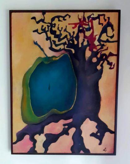 The fruit 1, Painting by Sasha