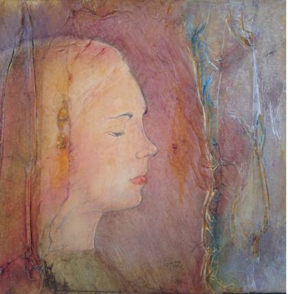 Pudeur, Peinture by Yaacov Corda