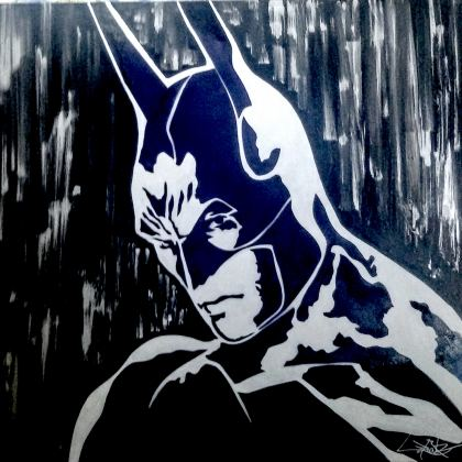Batman, Painting by Dan Groover
