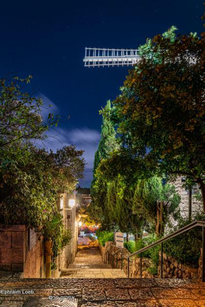 Yemin Moshe © Ephraim Loeb