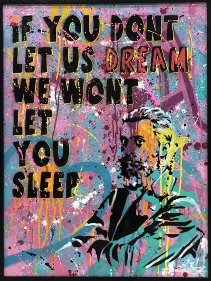 Let Us Dream II, Painting by Dan Groover