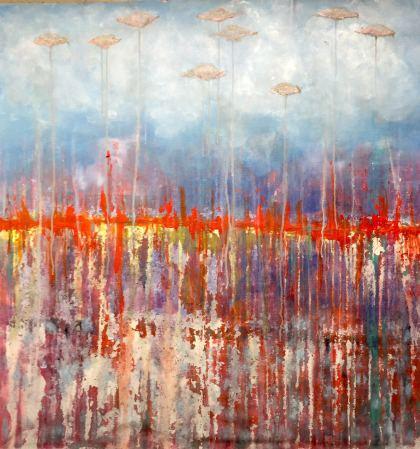 Edward, Painting by Lilac Abramsky-Arazi
