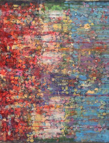 Flowers, Painting by Lilac Abramsky-Arazi