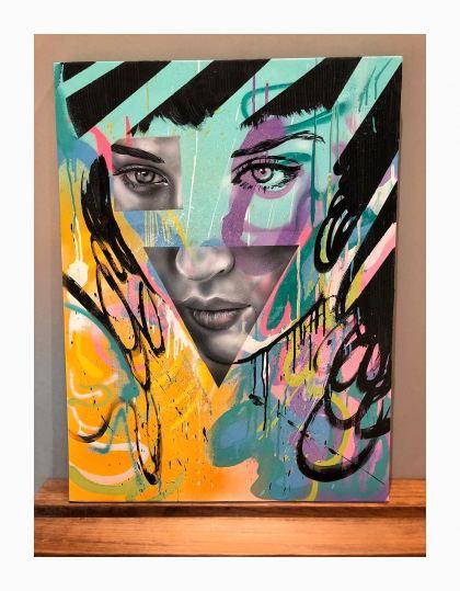 Thora , Painting by Shimon Wanda