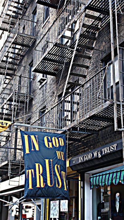 In God We Trust, Photography by Daniel Siboni
