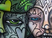 The faces, Peinture by Monkey RMG